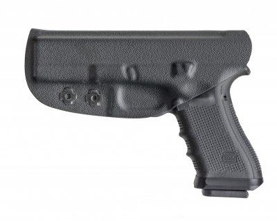 Внутрибрючная пластикова кобура A-LINE для Glock чорна (ПК11)
