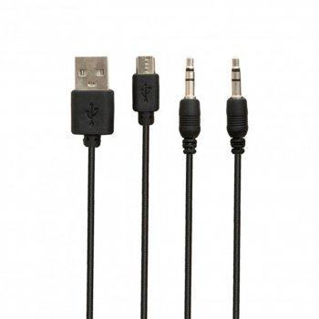 Портативная беспроводная колонка Hopestar H32 10 Вт Black, стерео + кабель для зарядки