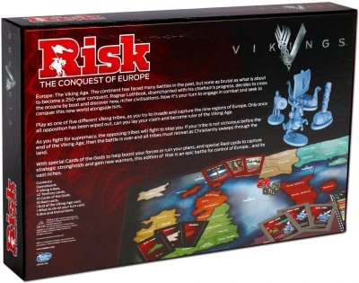 Настільна гра Winning Moves Risk Vikings (033145) (5036905033145)
