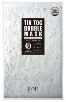 Тканевая маска для лица Konad Iloje Tik Toc Bubble Mask 23 г (8809433726738)