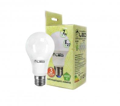 Світлодіодна лампа UkrLed Е27 7W (Груша) 4000К UkrLed (909981072)