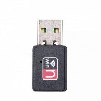 USB WiFi адаптер на чипе MT7601 со встроенной антенной для ПК, ноутбуков, тв тюнеров, ресиверов, Т2 (668174513)