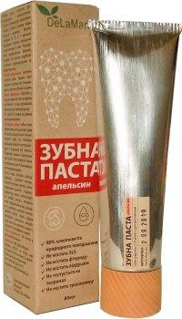 Зубная паста гигиеническая Delamark с ароматом сладкого апельсина 80 мл (4820152331991)