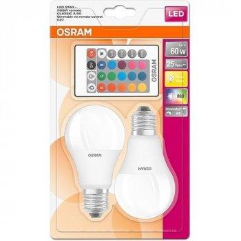 LED лампа LED Star Classic A60 9W/827 E27 DIM RGBW (OS 4058075091733)