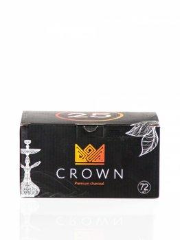 Вугілля кокосовий для кальяну Crown 1 кг