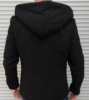 Пальто Chernyy Kot Coat 414-1 BLACK Чорний