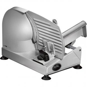 Ломтерезка Clatronic MA 3585 с регулировкой скорости + держатель 150 Вт Металлик