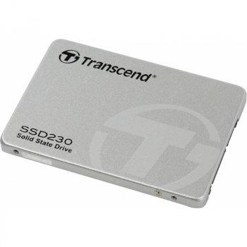 """Накопичувач SSD 256GB Transcend SSD230S Premium 2.5"""" SATA III 3D-V-NAND TLC (TS256GSSD230S)"""