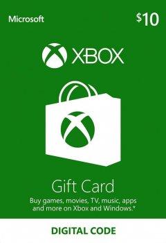 Подарочная карта Xbox Live / Gift Card пополнение бумажника (счета) своего аккаунта на сумму 10 usd, US-регион