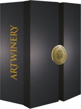 Сувернирный набор Вино игристое Artwine белое брют 0.75 л + Artwine розовое брют 0.75 л 10-13.5% в подарочной упаковке (4820176062697)