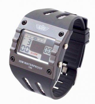 Годинники чоловічі армійські UZI Digital Sport Watch 799 (UZI-W-799)