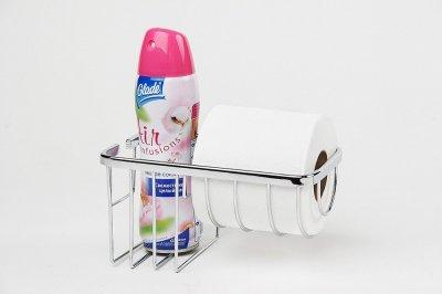 Тримач туалетного паперу і освіжувача повітря Атак серія Long 1125
