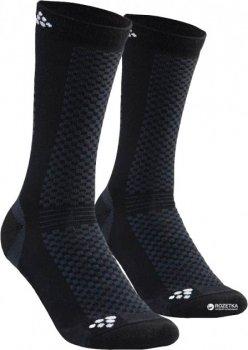 Термоноски Craft Warm Mid Sock 1905544-999900 37-39 BLACK/WHITE (34251)