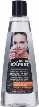 Вугільна міцелярна вода Detox Expert очисна 300 мл (4823080004944)
