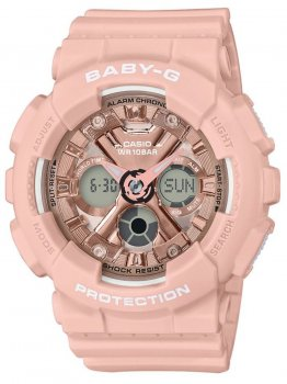 Годинник Casio BA-130-4AER Baby-G Damen 43mm 10ATM