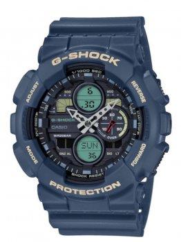 Годинник Casio GA-140-2AER G-Shock 51mm 20ATM