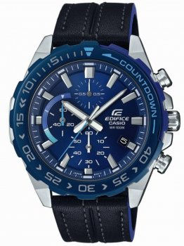 Годинник Casio EFR-566BL-2AVUEF Edifice Chronograph 44mm 10ATM