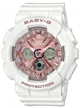 Годинник Casio BA-130-7A1ER Baby-G Damen 43mm 10ATM