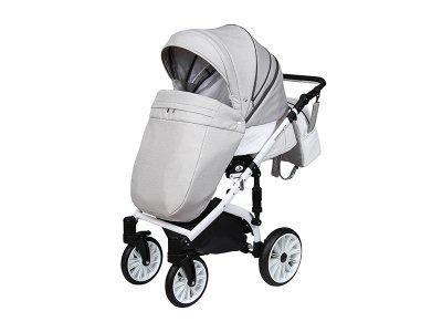 Детская коляска 2 в 1Angelina Amadeo серая color 6