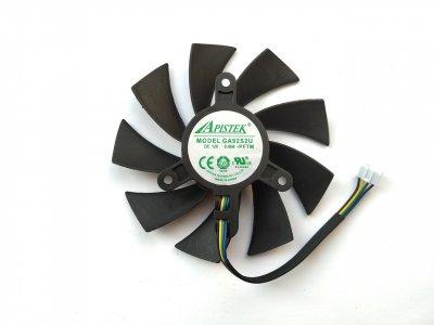Вентилятор Apistek для видеокарты Zotac GA92S2U (№171)