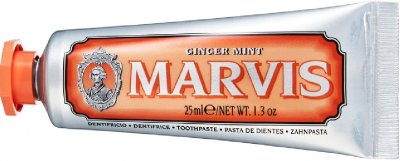 Зубная паста Marvis Имбирь и мята 25 мл (8004395110285/8004395111336)
