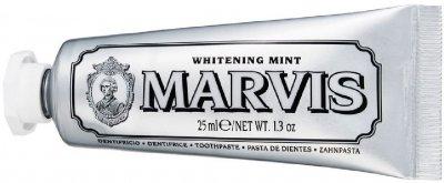 Зубная паста Marvis Отбеливающая 25 мл (8004395110322/8004395111312)