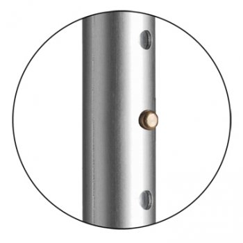 Костыль подлокотный OSSENBERG Klassiker Твердая рукоятка Ergo Серый 220 DKgr