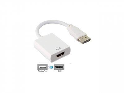 Адаптер-перехідник DisplayPort - HDMI 0.15 м