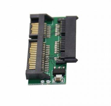 Адаптер конвертер mSATA 1.8 для SATA HDD SSD (STLab)