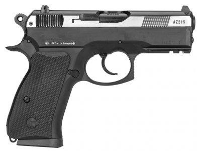 Пістолет пневматичний ASG CZ 75D Compact. Корпус - метал. 23702521