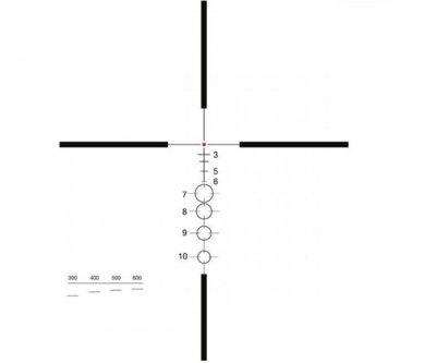 Оптичний приціл ELCAN SpecterDR 1.5-6х C2 (для калібру 7.62х51). 37270012
