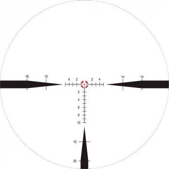 Приціл оптичний Nightforce NX8 1-8x24 F1 ZeroS 0.2 сітка Mil FC-Mil з підсвічуванням. 23750141