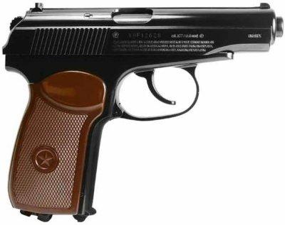 Пістолет пневматичний SAS Makarov Blowback. Корпус - метал. 23702441
