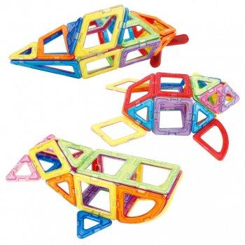 Детский магнитный конструктор Limo Toy геометрические фигуры (36 деталей) R910109-LT5003