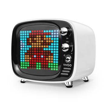 Портативная акустическая система Divoom Voombox Tivoo Bluetooth White