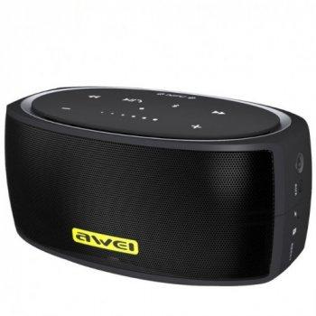 Портативна акустична система AWEI Y210 Bluetooth Speaker Black