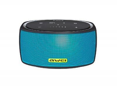 Портативна акустична система AWEI Y210 Bluetooth Speaker Blue