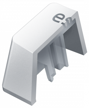 Набор кейкапов для клавиатуры Razer PBT Mercury Edition 120 pcs (RC21-01490200-R3M1)