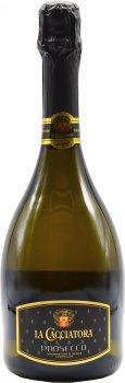 Вино ігристе La Cacciatora Prosecco Spumante DOC Extra Dry біле сухе 0.75 л 11% (8004300011744)