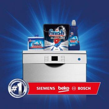 Таблетки для посудомоечных машин FINISH Quantum Ultimate 20 шт (4002448143093)