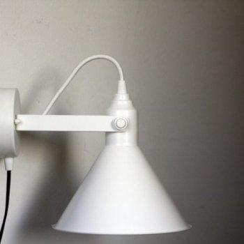 Бра для вітальні, спальні, офісу, кухні, передпокої, кафе Buco clip 5495-1 сталь білий PikArt