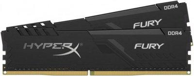Оперативна пам'ять HyperX DDR4-3733 16384MB PC4-29864 (Kit of 2x8192) Fury Black (HX437C19FB3K2/16)