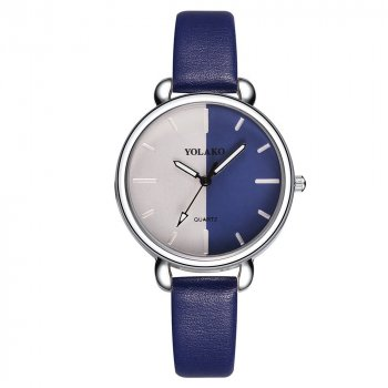 Женские классические часы Yolako, циферблат - синий, арт. (7754892)
