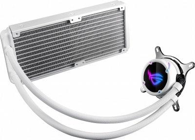 Система рідинного охолодження Asus ROG Strix LC 240 RGB White Edition Aura Sync (ROG-STRIX-LC-240-RGB-White)