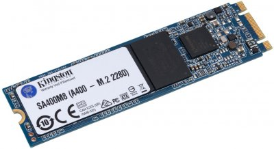 Kingston SSD SSDNow A400 480GB M.2 2280 SATAIII 3D V-NAND (SA400M8/480G)
