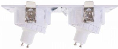 Точковий світильник Brille HDL-DT 35/2 WH (36-323)