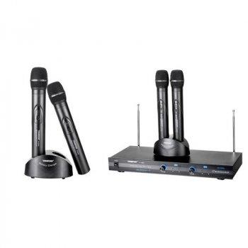 Радіомікрофон на 2 трубки з док-станцією для підзарядки акумуляторів Takstar TTS-6800 (1741)