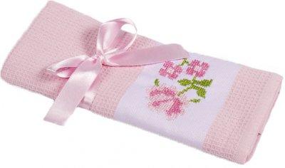 Полотенце Lotus Life 40х60 Розовое (svt-2000022211413)