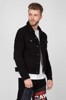 Чоловіча чорна джинсова куртка D-staq RFTP eclips 3D G-Star RAW D12132, A926