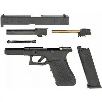 Пістолет пневматичний SAS G17 (Glock 17) Blowback. Корпус - пластик. 23702657
